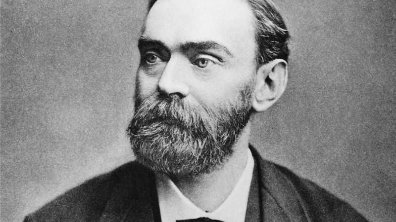 "Alfred Nobel: ""Najbogatszy wagabunda Europy"""