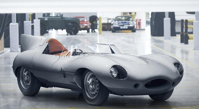 Jaguar D-Type 1955-2018