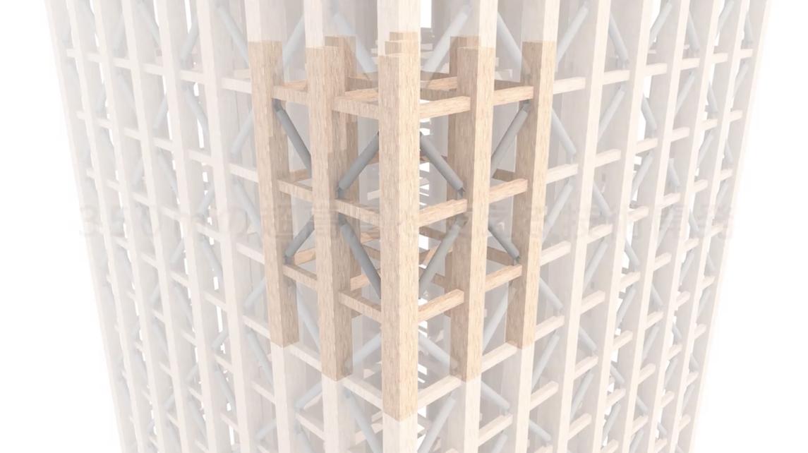 drewniany wieżowiec 2