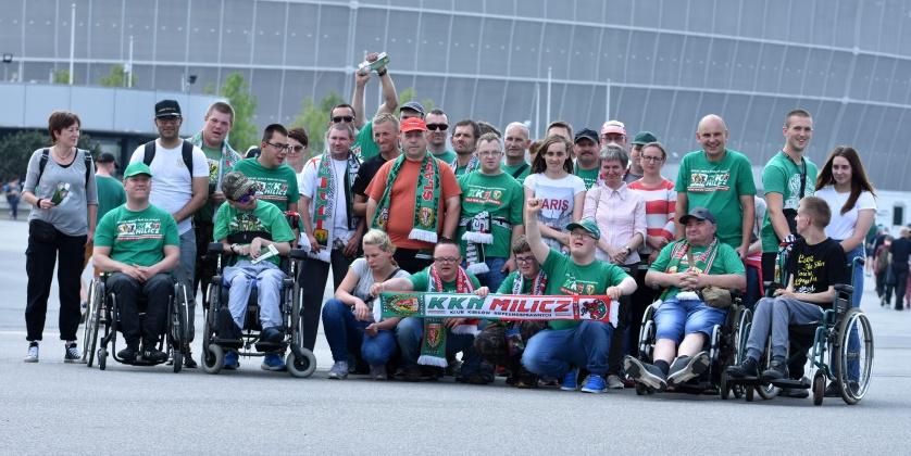 Niepełnosprawni fani z Wrocławia znów z rekordem