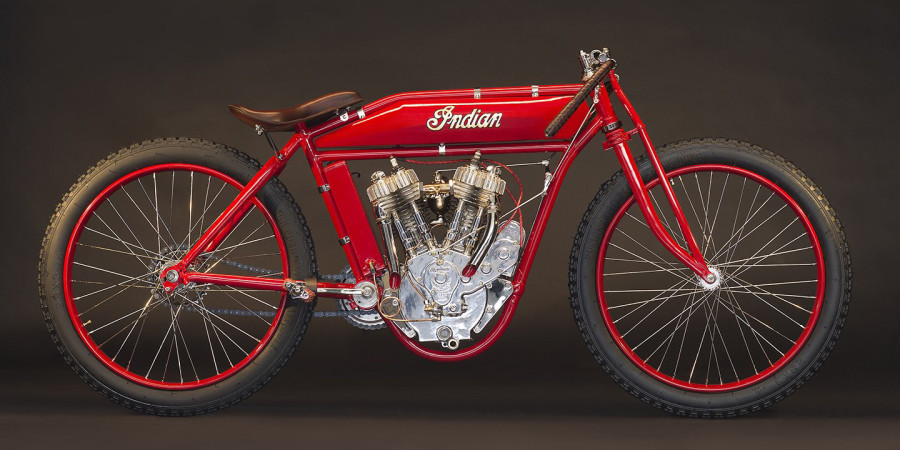 Indian Twin Board-track Racer 1918