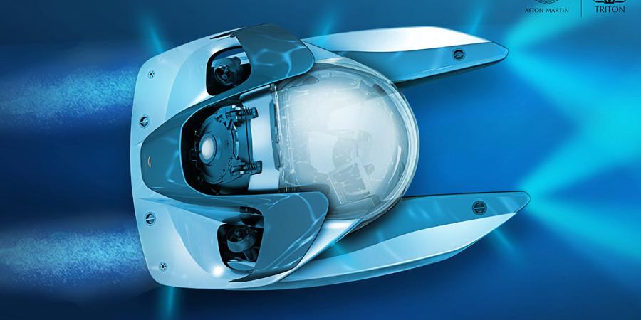 Osobista łódź podwodna od Aston Martina