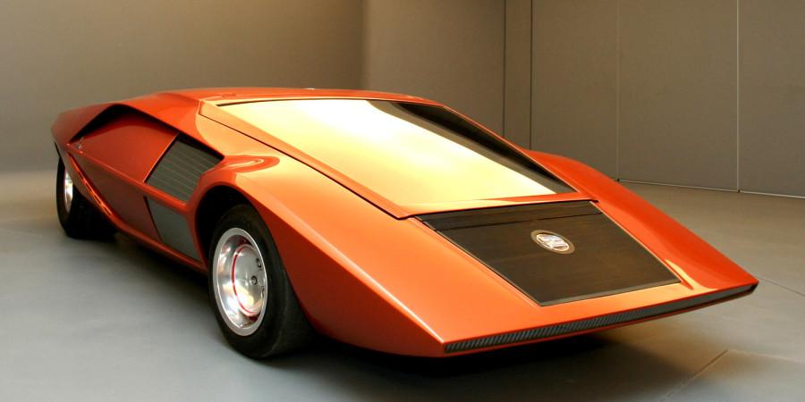 Lancia Stratos Zero 1970