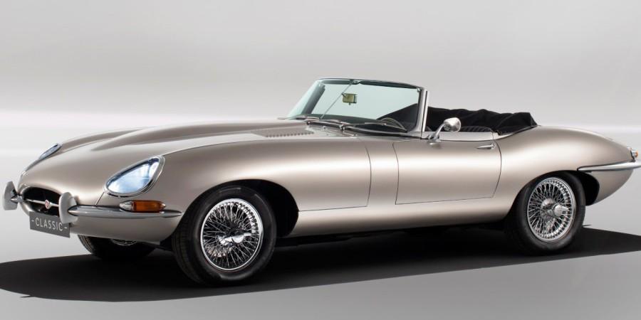 Elektryczny Jaguar E-Type wyjedzie na ulice