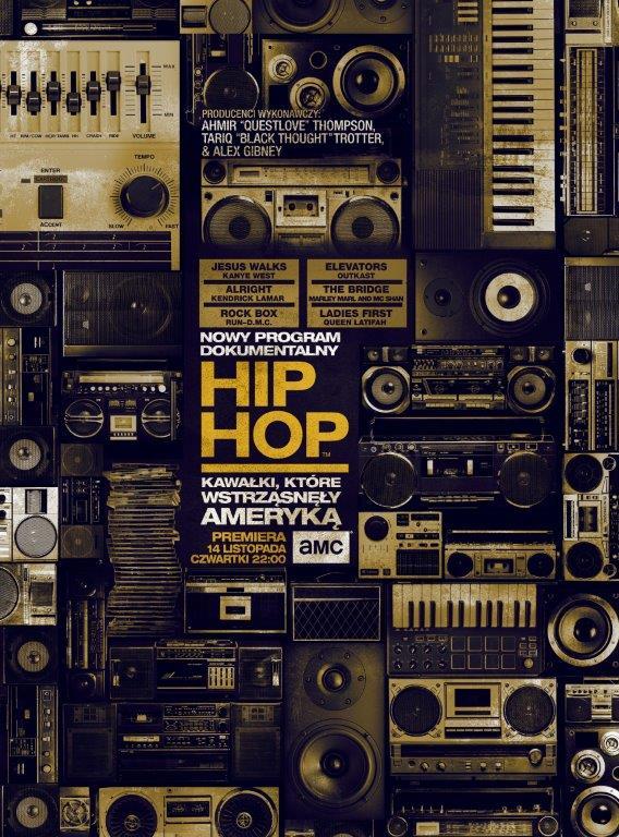 Hip Hop kawalki, które wtrzasnely Ameryka_key art