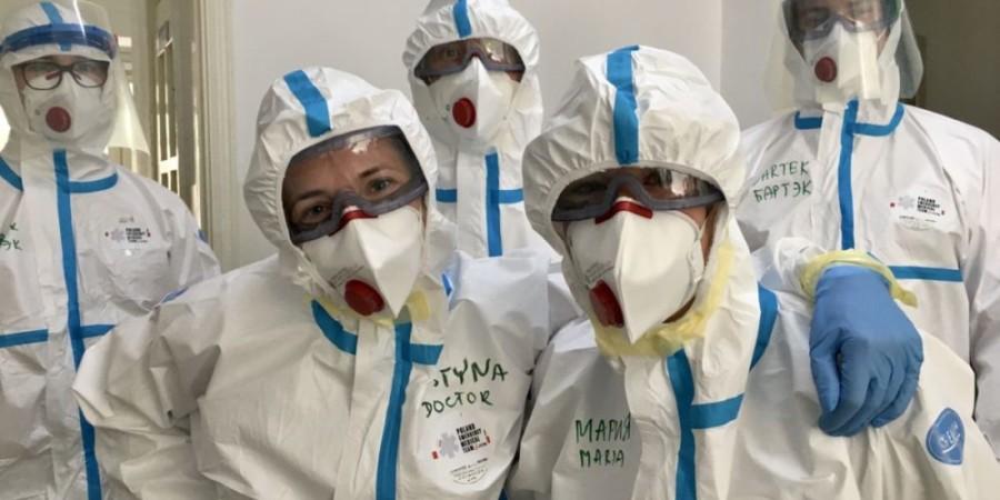 Ratownicy PCPM pomogą ekspercką wiedzą w walce z COVID-19 na Madagaskarze