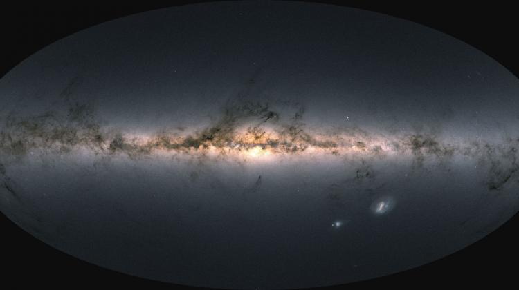 Najnowsza mapa nieba z misji kosmicznej Gaia