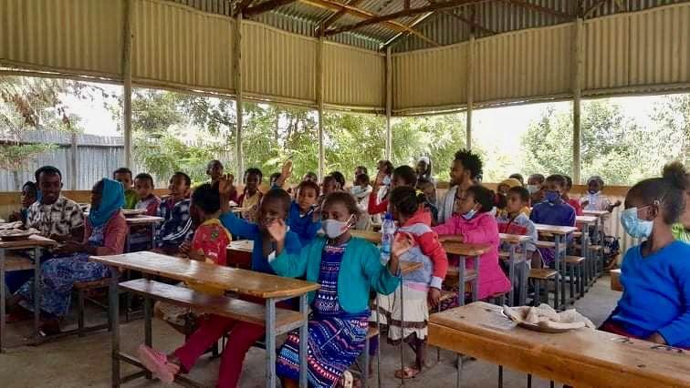 Stołówka szkolna w Selam Chora znowu pełna!